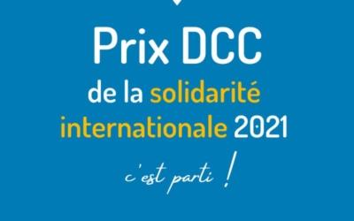 Le prix Délégation Catholique pour la Coopération de la solidarité internationale